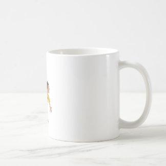 Dodgeball Kid Basic White Mug