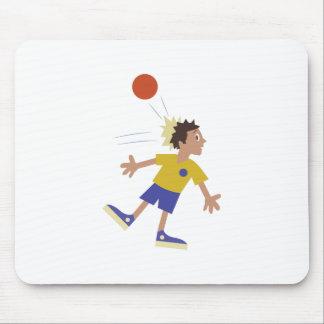 Dodgeball Kid Mouse Pad
