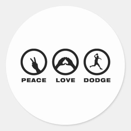 Dodgeball Stickers