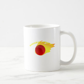 Dodgeball Survivor Basic White Mug