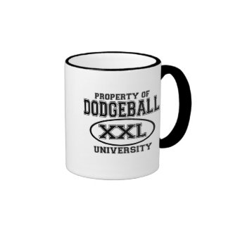 Dodgeball University T-shirts and Gifts. Coffee Mug