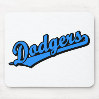 Dodgers in Dodgers Blue Mouse Pads