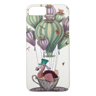 Dodo Balloon with Dragonflies iPhone 7 Case