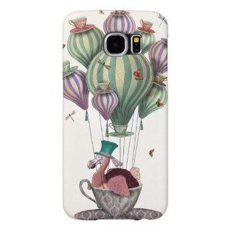 Dodo Balloon with Dragonflies Samsung Galaxy S6 Cases