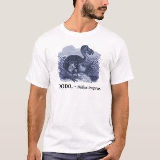 Dodo Bird (Didus ineptus) T-Shirt