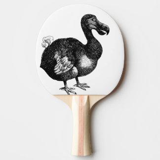 dodo bird ping pong paddle
