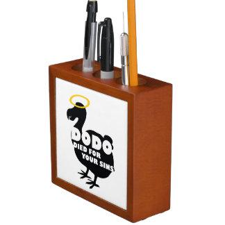Dodo Died for Your Sins Desk Organiser