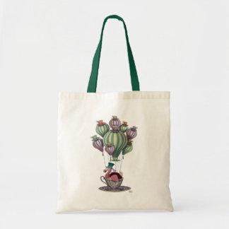 Dodo in Teacup Budget Tote Bag