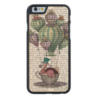 Dodo in Teacup Carved Maple iPhone 6 Case