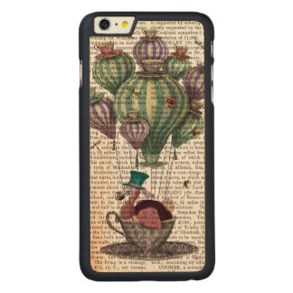 Dodo in Teacup with Dragonflies Carved® Maple iPhone 6 Plus Case