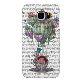 Dodo in Teacup with Dragonflies Samsung Galaxy S6 Cases
