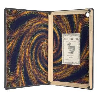 Dodocase iPad Air case Fractal Spiral Vortex
