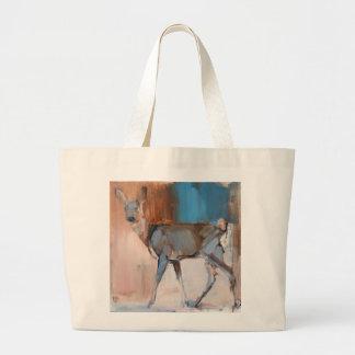Doe a Deer 2014 Large Tote Bag