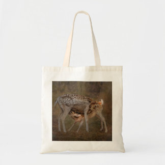 Doe and Fawn Photo Tote Bag