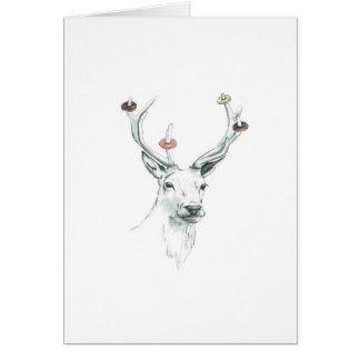 doe-nut deer greeting card