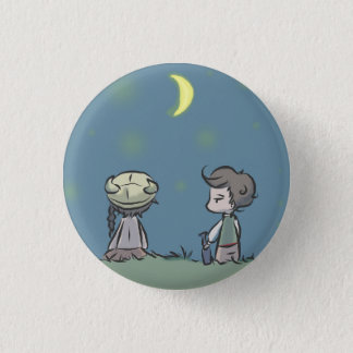 Does France have the same moon? 3 Cm Round Badge