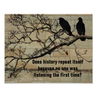 Does History Repeat Itself? Poster