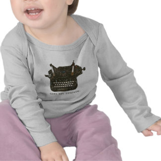 Does Not Compute Infant Long Sleeve Tees
