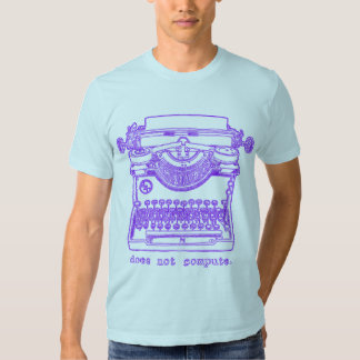Does Not Compute (Purple) T-shirts