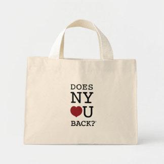 DOES NY [HEART] U BACK?® tote bag
