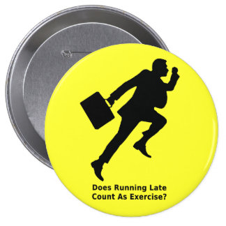 Does Run Late Count As Exercise - Button