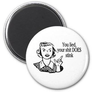 Does Stink Retro 6 Cm Round Magnet