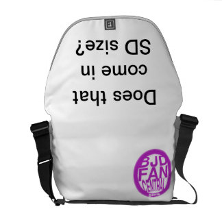 Does that come in SD size? Courier Bag