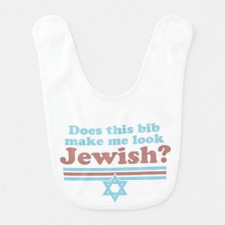 Does this bib make me look Jewish?
