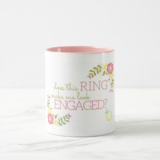 Does this ring make me look engaged? MUG