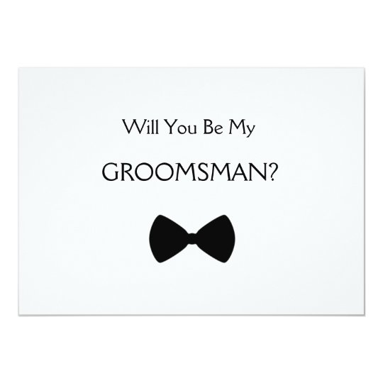 Does will you see my groomsman invitation zazzle does will you see my groomsman invitation junglespirit Image collections