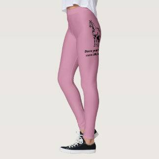 Does your horse even lift, bro? Funny Equestrian Leggings