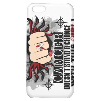 Doesn't Stand A Chance Head Neck Cancer Cover For iPhone 5C