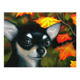 Dog 101 black Chihuahua Postcards