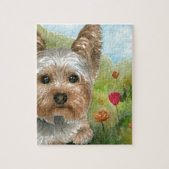 Dog 117 Yorkshire Jigsaw Puzzle