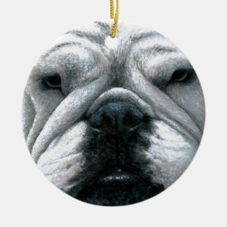 Dog 118 English Bulldog Christmas Ornament