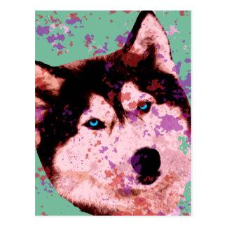 Dog 1 - Dog Days Of Summer Postcard