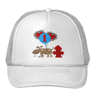 Dog 1st Birthday T shirts and Gifts Trucker Hat