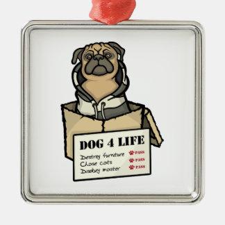 Dog 4 Life Christmas Ornament