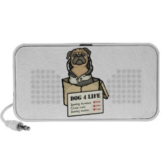 Dog 4 Life Notebook Speakers