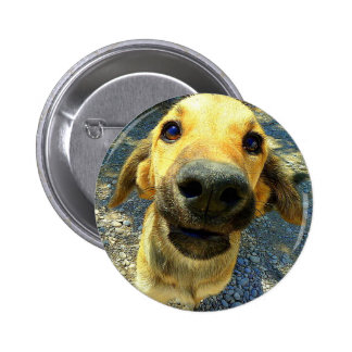 Dog 6 Cm Round Badge