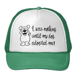 Dog Adoption Cap
