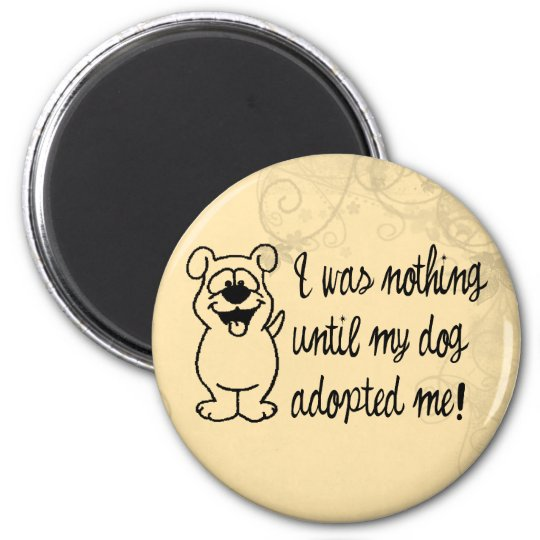 Dog Adoption Magnet