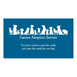 Dog Adoption Service Pack Of Standard Business Cards