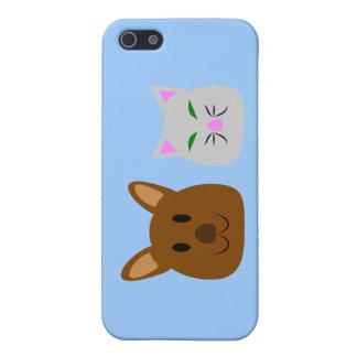 Dog and Cat Best Friend iPhone 5/5S Case