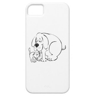Dog and Cat iPhone 5 Case