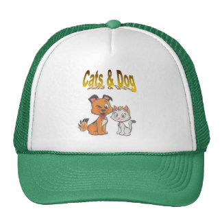 dog and cat mesh hats