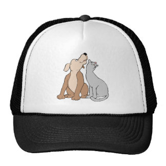 Dog And Cat Mesh Hat