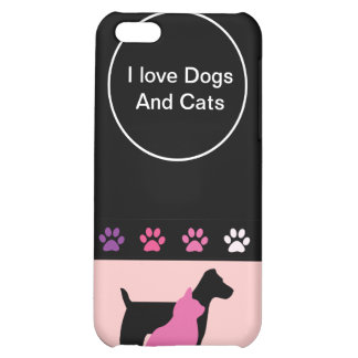 Dog And Cats iPhone 5C Case