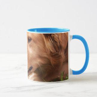 Dog and Chick Mug