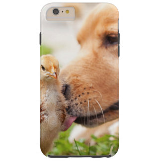Dog and Chick Tough iPhone 6 Plus Case